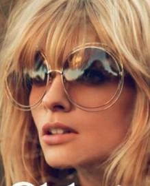 Óculos de Sol Vintage Óculos Estilo Raul Seixas Importado